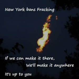 Fracking-Verbot in New York – If we can make it there, we'll make it anywhere!